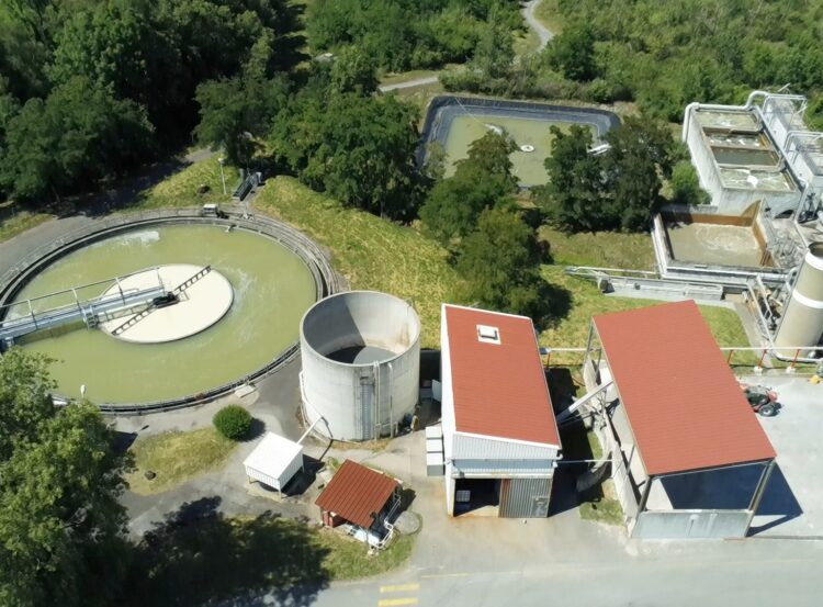 station d'épuration traitement des eaux usées pdl